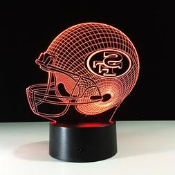 San Francisco 49ers Collectible Light Lamp Home Decor Gift C
