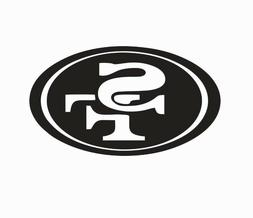 San Francisco 49ers NFL Football Vinyl Die Cut Car Decal Sti